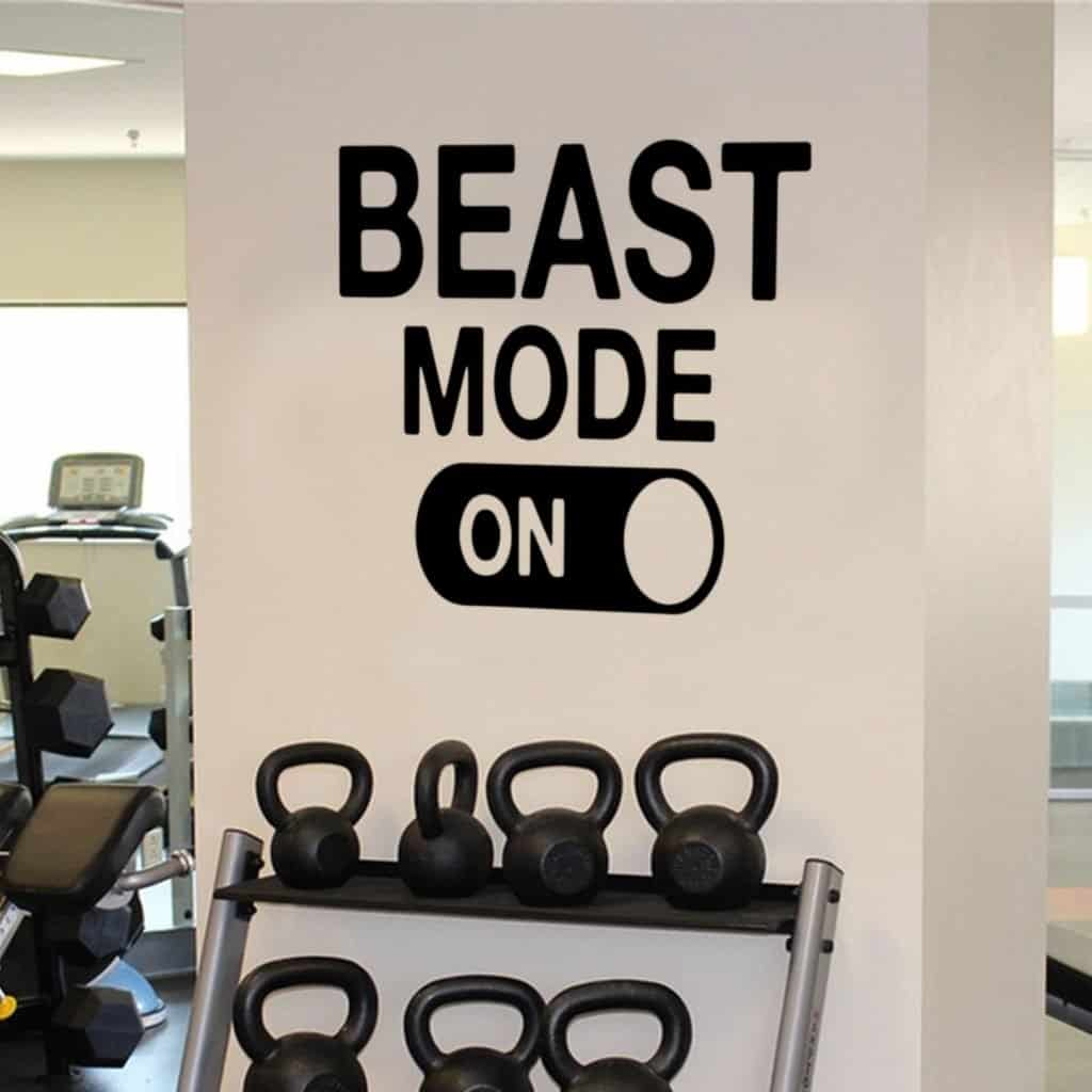 beast mode on decal