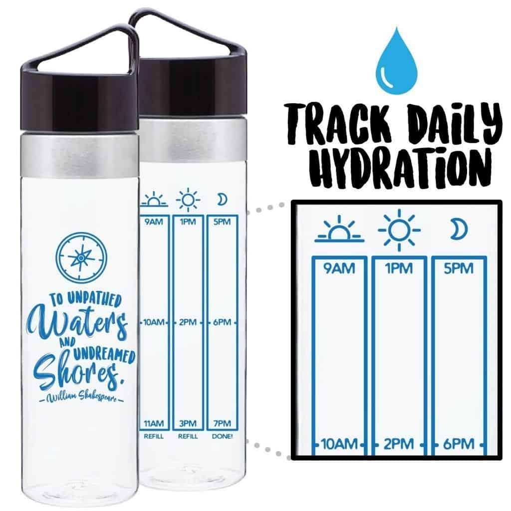 Art of Wanderlust Water Bottle