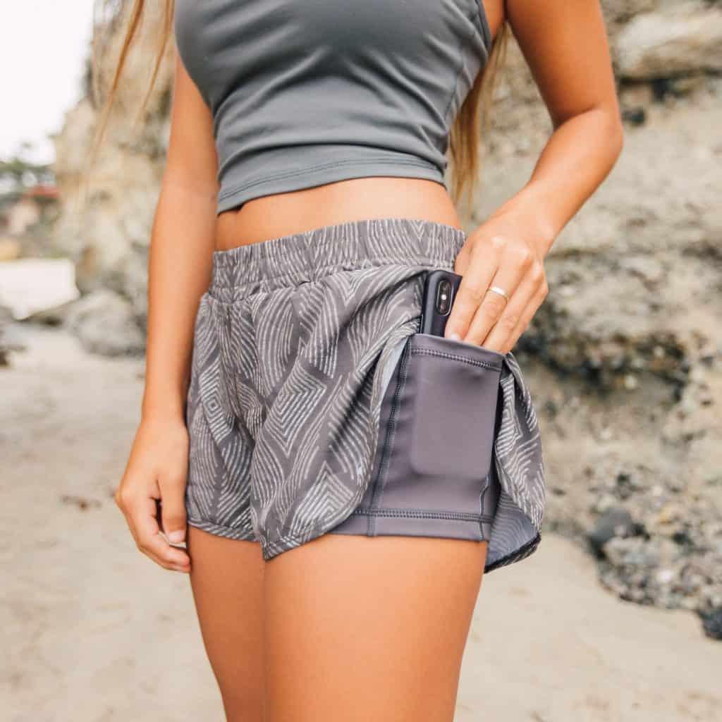 senita athletics shorts
