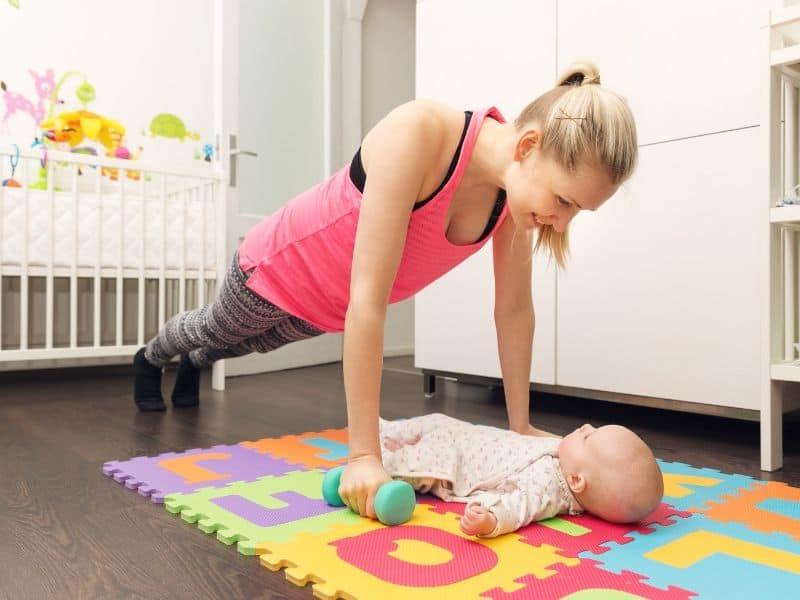 postpartum weight lifting