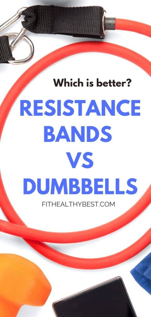 Resistance bands vs weights:  Which is better for getting toned?