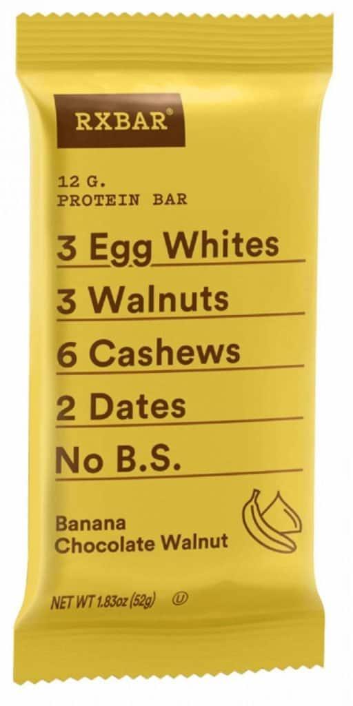 banana chocolate rxbar