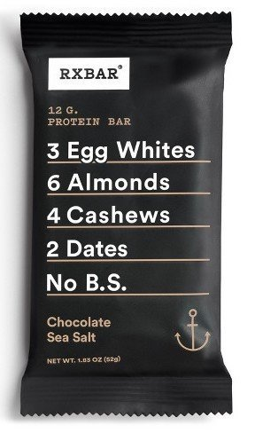 best rxbar flavor chocolate sea salt