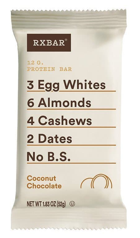 coconut chocolate rxbar