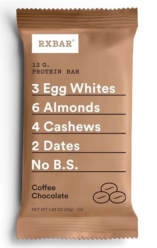 coffee chocolate rxbar flavor