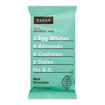 mint chocolate rxbar