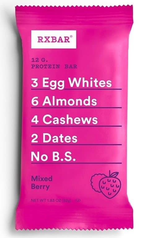 mixed berry rxbar