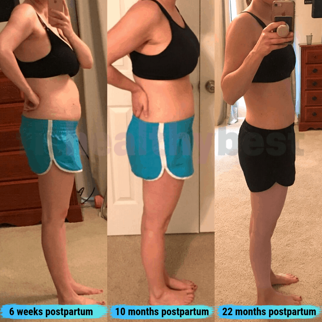 postpartum weight loss timeline