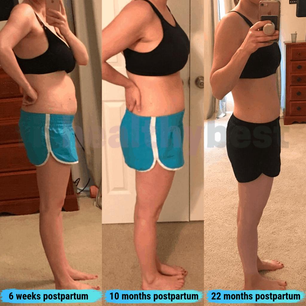 postpartum weight loss timeline