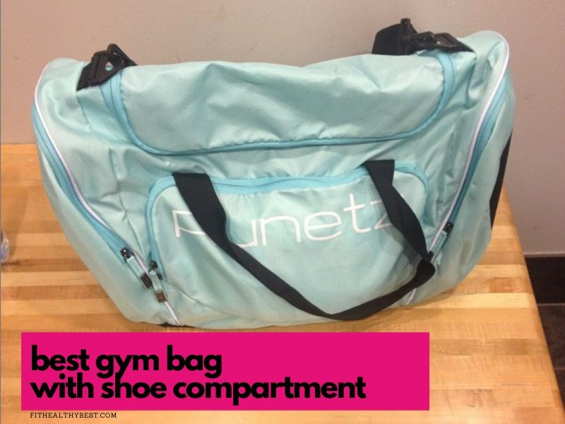 best gym bag with shoe compartment runetz
